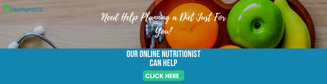 Online nutritionist service. Call to action from 5 Foods to Boost Lung Health post